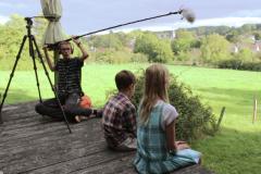 Les jeunes en tournage