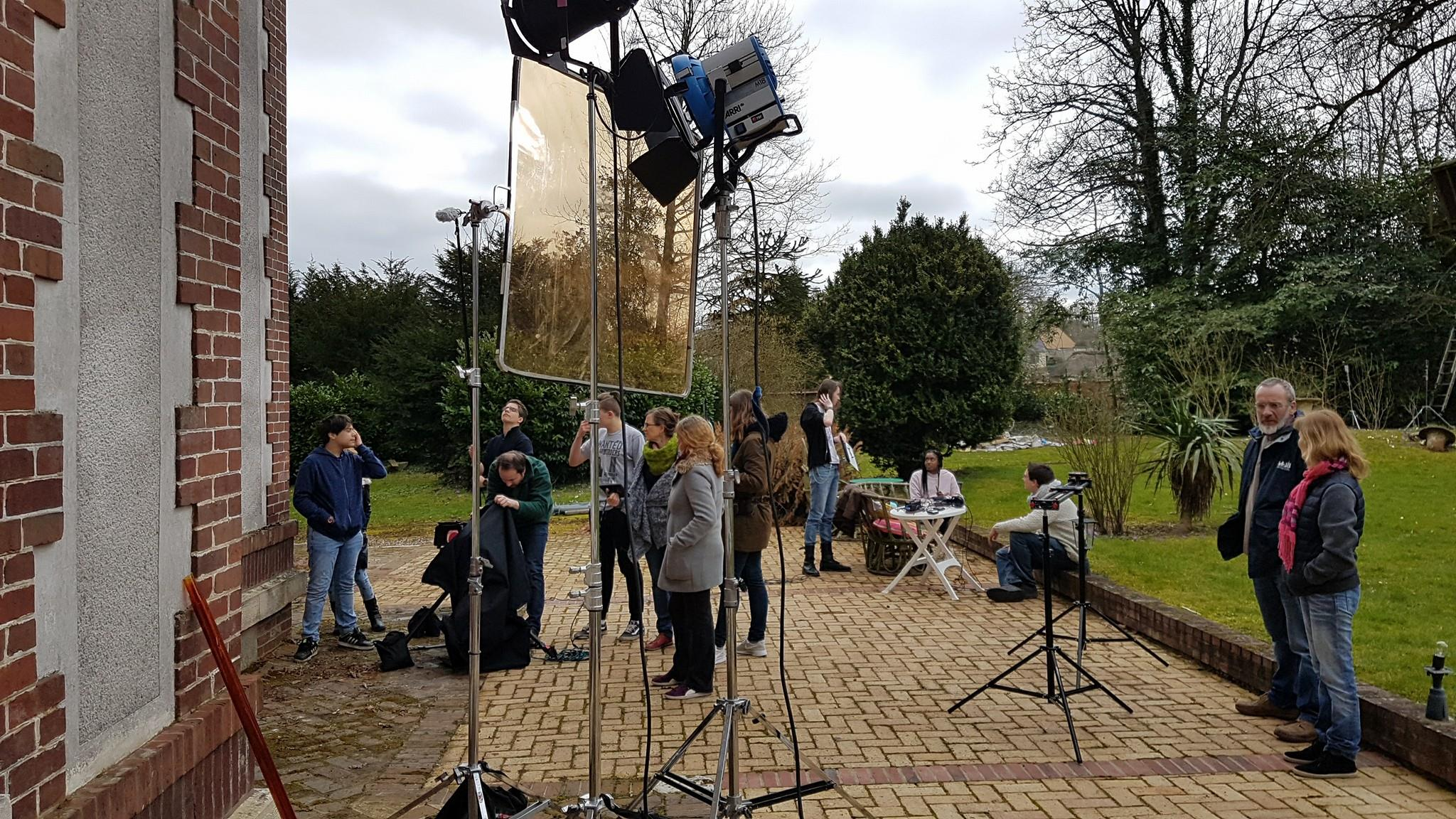 Jour 3 : tournage à Mainneville