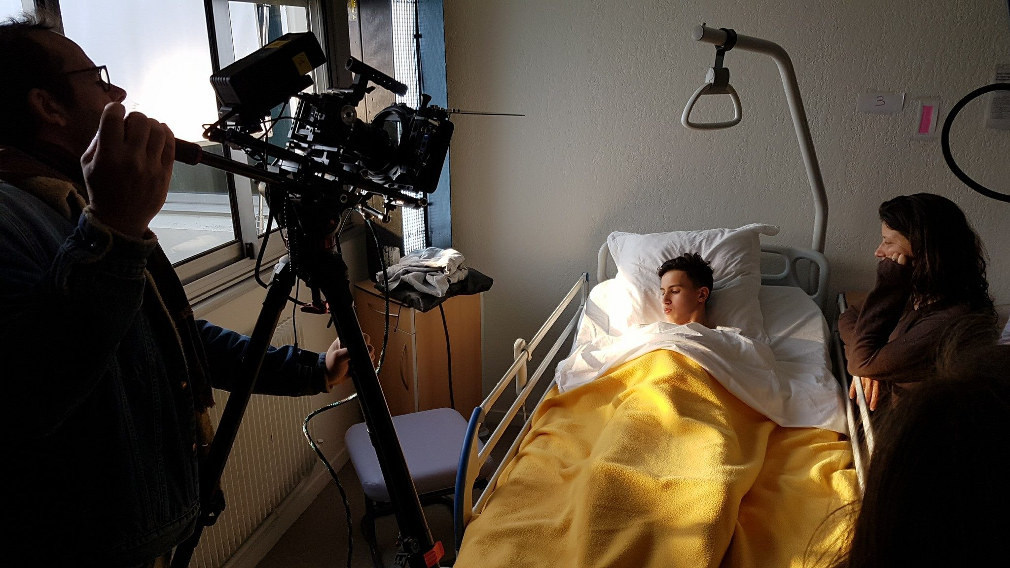 Jour 4 : tournage au lycée Louise Michel